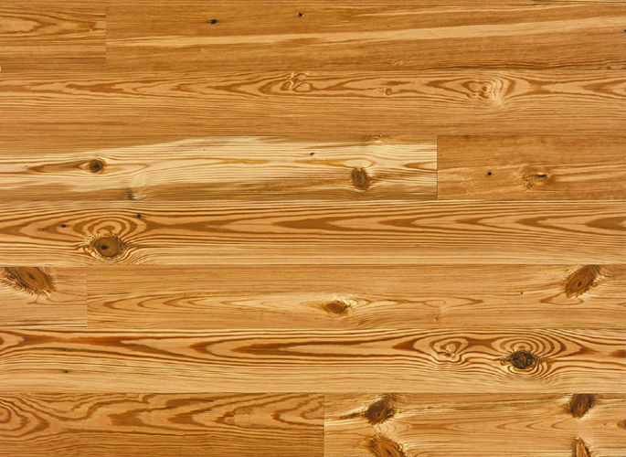 Antique Reclaimed Heart Pine Solid Wood Flooring Select Grade