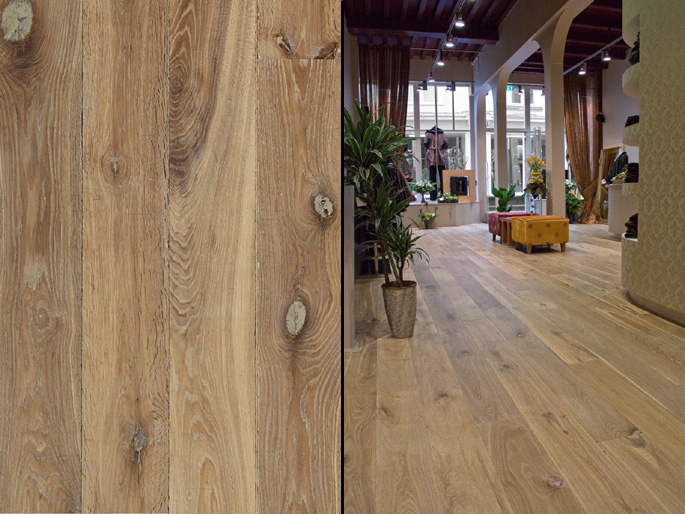 European White Oak Wide Plank Engineered Prefinished Wood Flooring