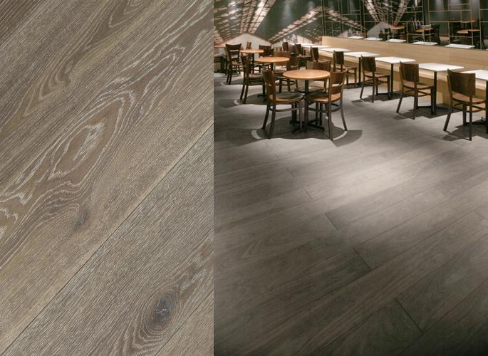 European White Oak Wide Plank Engineered Prefinished Wood Flooring Fossil  Oil Finish - European White Oak Wide Plank Engineered Prefinished Wood Flooring