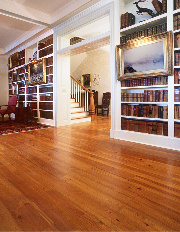 Southern Wood Floors Antique Reclaimed Heart Pine Solid Flooring