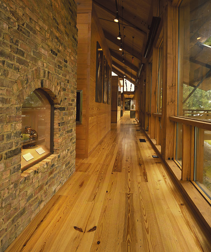 ... product specifications for Heart Pine Select Grade Solid Wood Flooring