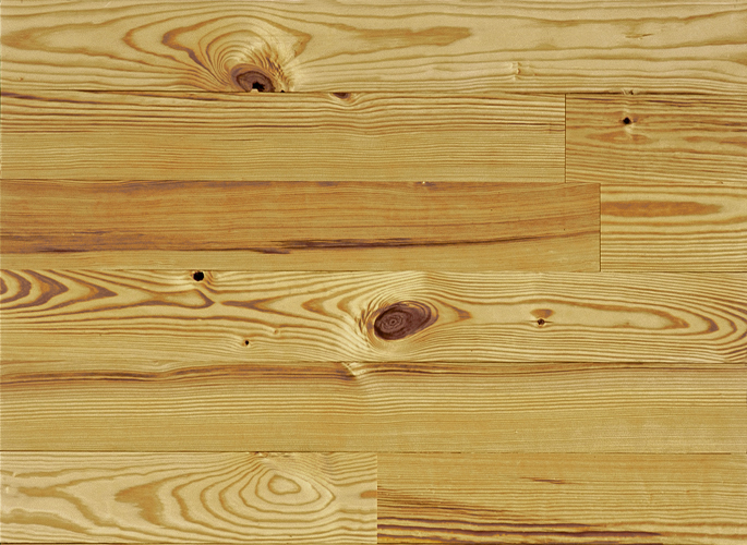 Heart Pine Solid Wood Flooring Cottage Grade