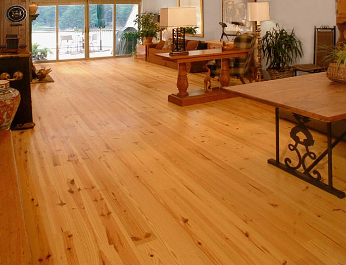 Heart Pine Solid Wood Flooring